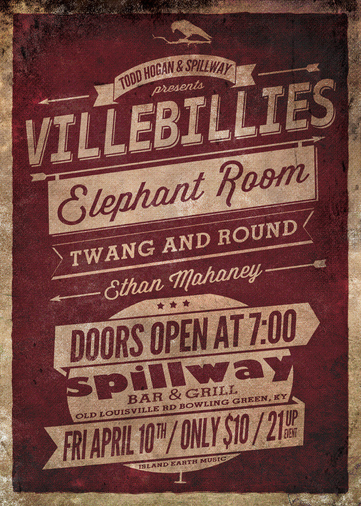 Villebillies---Elephant-Room---Twang-and-Round---April-10