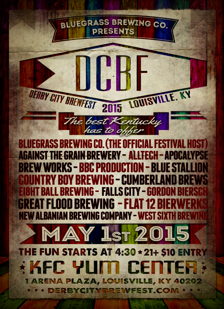 Derby City BrewFest-brews-poster